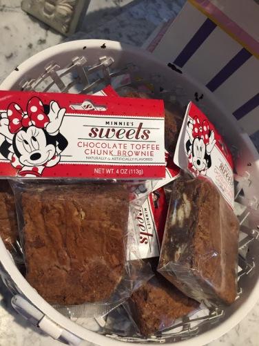 Brownie vendido no parque da Disney
