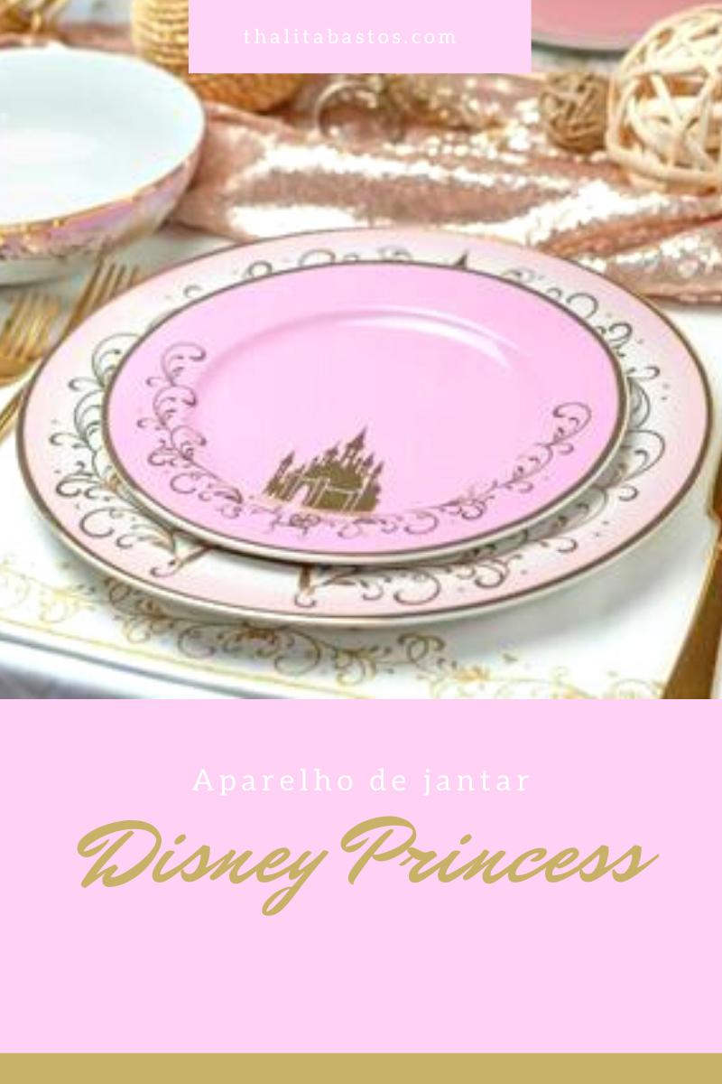 Aparelhos de jantar das princesas